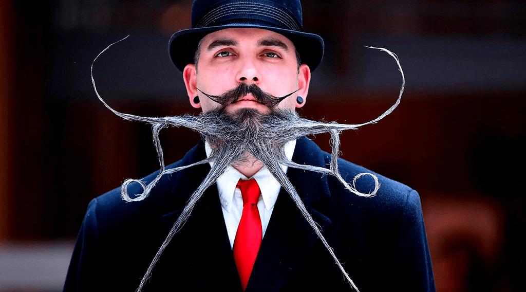 los bigotes más locos